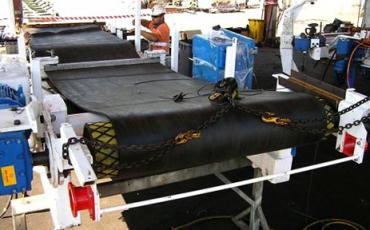 Соединение конвейерных лент